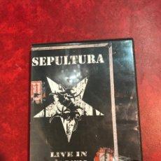 Vídeos y DVD Musicales: SEPULTURA 2 DVD DE 2005. Lote 150746562