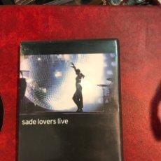 Vídeos y DVD Musicales: SADE DVF DE 2002. Lote 150748389