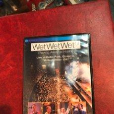 Vídeos y DVD Musicales: WET WET WET DVD DE 1997. Lote 150751464