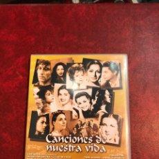 Vídeos y DVD Musicales: CACIONES DE NUESTRA VIDA DVD. Lote 150752748