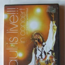 Vídeos y DVD Musicales: BEATLES PAUL MCCARTNEY IS LIVE IN CONCERT ON THE NEW WORLD TOUR PRECINTADO. Lote 153813450