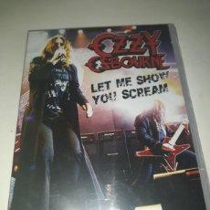 Vídeos y DVD Musicales: OZZY OSBOURNE-LET ME SHOW YOU SCREAM. Lote 151377262
