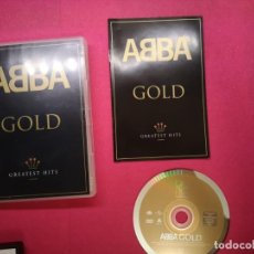 Vídeos y DVD Musicales: DVD MUSICAL ABBA GOLD GREATEST HITS . Lote 151888010