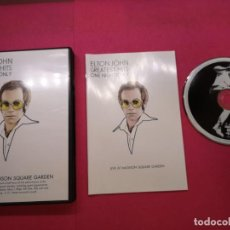 Vídeos y DVD Musicales: ELTON JOHN GREATEST HITS ONE NIGHT ONLY DVD MUSICAL . Lote 151888242