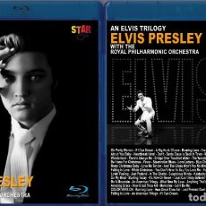 Vídeos y DVD Musicales: ELVIS PRESLEY - AN ELVIS TRILOGY WITH THE ROYAL PHILHARMONIC ORCHESTRA, BLU-RAY. Lote 152060526