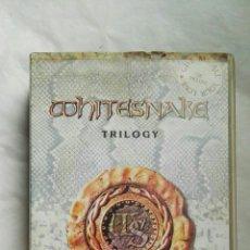 Vídeos y DVD Musicales: WHITESNAKE TRILOGY VHS. Lote 152839856