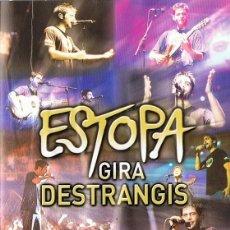 Vídeos y DVD Musicales: ESTOPA GIRA DESTRANGIS . Lote 152945418