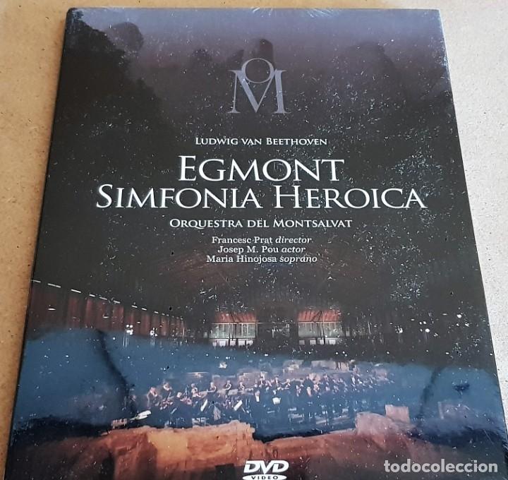 EGMONT. SIMFONIA HEROICA. ORQUESTRA DEL MONTSALVAT / CONCERT AL BORN / DVD - PRECINTADO. (Música - Videos y DVD Musicales)