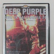 Vídeos y DVD Musicales: DVD DEEP PURPLE. LIVE IN CALIFORNIA JAM 74. . Lote 153652842