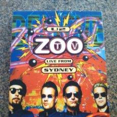 Vídeos e DVD Musicais: DOBLE DVD -- U2 -- ZOO TV LIVE FROM SYDNEY -- COMO NUEVO -- . Lote 154385850