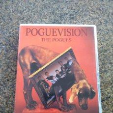 Video e DVD Musicali: DVD -- THE POGUES -- POGUEVISION -- COMO NUEVO -- . Lote 154387218