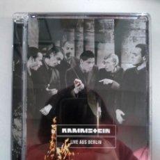 Vídeos y DVD Musicales: RAMMSTEIN - LIVE AUS BERLIN - DVD (SUPER JEWEL BOX). Lote 154785346