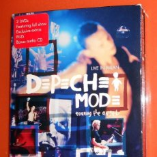 Vídeos y DVD Musicales: BOX 2 DVD + BONUS CD DEPECHE MODE TOURING THE ANGEL LIVE IN MILAN - 2006 MUTE RECORDS DESCATALOGADO. Lote 155626390