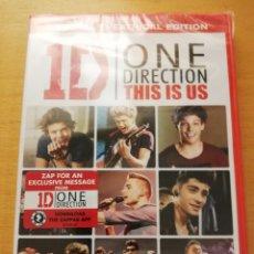 Vídeos y DVD Musicales: 1D ONE DIRECTION. THIS IS US (DVD PRECINTADO). Lote 155714650