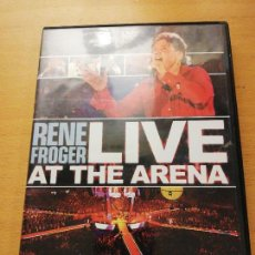 Vídeos y DVD Musicales: RENE FROGER. LIVE AT THE ARENA (DVD). Lote 155714810