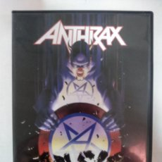 Vídeos y DVD Musicales: ANTHRAX - MUSIC OF MASS DESTRUCTION - LIVE FROM CHICAGO 2004 - DVD + LIVE CD. Lote 155756478
