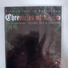 Vídeos y DVD Musicales: CHRONICLES OF DOOM - LIVE IN ROTTERDAM 2006 - DVD . Lote 155763270