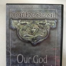Vídeos y DVD Musicales: CATHEDRAL - OUR GOD HAS LANDED - DVD . Lote 155765686