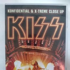 Vídeos y DVD Musicales: KISS – KONFIDENTIAL & X-TREME CLOSE UP - DVD. Lote 155768122
