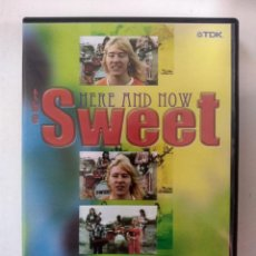 Vídeos y DVD Musicales: THE SWEET - HERE AND NOW - DVD. Lote 155783186