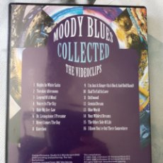 Vídeos y DVD Musicales: THE MOODY BLUES COLLECTED THE VIDEOCLIPS. Lote 155783868