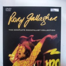 Vídeos y DVD Musicales: RORY GALLAGHER - THE COMPLETE ROCKPALAST COLLECTION - BOX SET - 3 X DVD. Lote 155784126