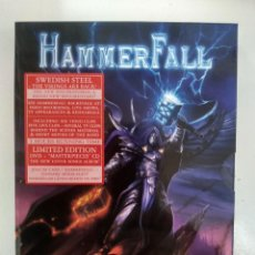 Vídeos y DVD Musicales: HAMMERFALL - REBELS WITH A CAUSE (UNRULY, UNRESTRAINED, UNINHIBITED) - DVD + CD. Lote 155785046