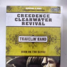 Vídeos y DVD Musicales: CREEDENCE CLEARWATER REVIVAL - TRAVELIN' BAND - 2 X DVD + CD. Lote 155785994