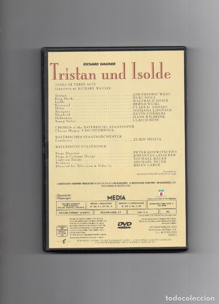 Vídeos y DVD Musicales: OPERA TRISTAN UND ISOLDE RICHARD WAGNER - Foto 2 - 156557438