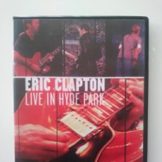 Vídeos y DVD Musicales: ERIC CLAPTON. LIVE IN HYDE PARK. LONDON SATURDAY JUNE 29 1996. DVD. Lote 156619902