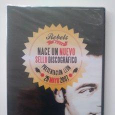 Vídeos y DVD Musicales: REBELS MUSIC.NACE UN NUEVO SELLO DISCOGRAFICO.QUIJANO.2007. Lote 156621117