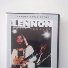 Vídeos y DVD Musicales: GRANDES CONCIERTOS:JOHN LENNON Y LA PLASTIC ONO BAND.. Lote 156622884