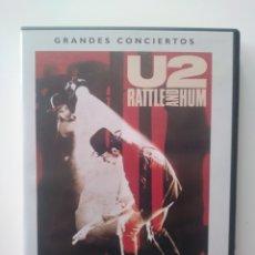 Vídeos y DVD Musicales: GRANDES CONCIERTOS:RATTLE & HUM. U2. Lote 156623212