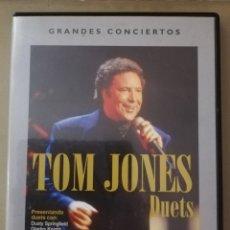 Vídeos y DVD Musicales: TOM JONES - DUETS. Lote 156635142