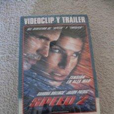 Vídeos y DVD Musicales: UB40 VIDEOCLIP Y TRAILER DE LA PELICULA SPEED 2 EN FORMATO VHS PRECINTADA. Lote 156658470