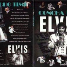 Vídeos y DVD Musicales: ELVIS PRESLEY - CONCHA TIME (STAR) DVD DIGIPACK + MINI DVD BONUS. Lote 156661226