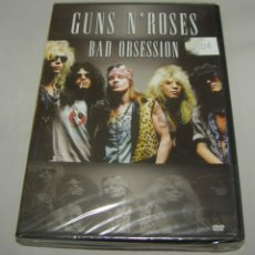 Vídeos y DVD Musicales: GUNS N'ROSES - BAD OBSESSION - CONCIERTO NO OFICIAL - DVD - PRECINTADO. Lote 156672758