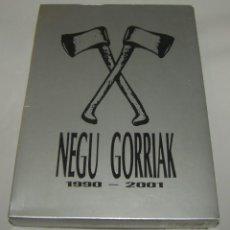 Vídeos y DVD Musicales: NEGU GORRIAK 1990-2001 DVD + CD EXTRA - PRECINTADO. Lote 156672770