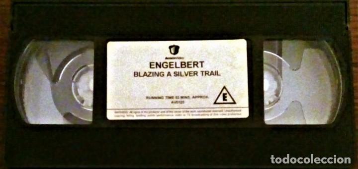 ENGELBERT HUMPERDINCK - Blazing A Silver Trail - VHS  Brand New !