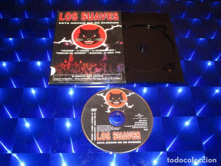 LOS SUAVES ( ESTA NOCHE NO SE DUERME ) - DVD - 0602517431355 - HARMONY - EDICION MUY RARA (Música - Videos y DVD Musicales)