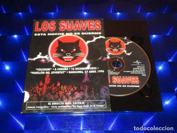 Vídeos y DVD Musicales: LOS SUAVES ( ESTA NOCHE NO SE DUERME ) - DVD - 0602517431355 - HARMONY - EDICION MUY RARA - Foto 2 - 157222414
