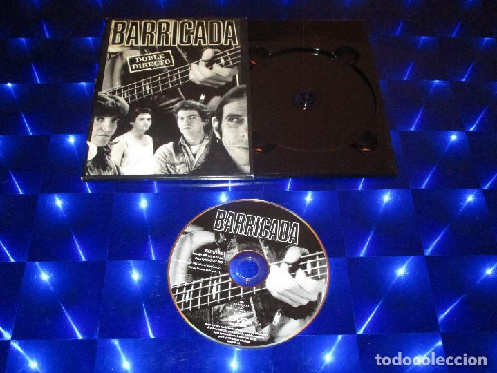 BARRICADA ( DOBLE DIRECTO ) - DVD - 0602517431324 - UNIVERSAL - ROJO - CONTRA LA PARED - OKUPACION (Música - Videos y DVD Musicales)
