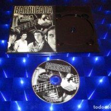 Vídeos y DVD Musicales: BARRICADA ( DOBLE DIRECTO ) - DVD - 0602517431324 - UNIVERSAL - ROJO - CONTRA LA PARED - OKUPACION. Lote 157263534