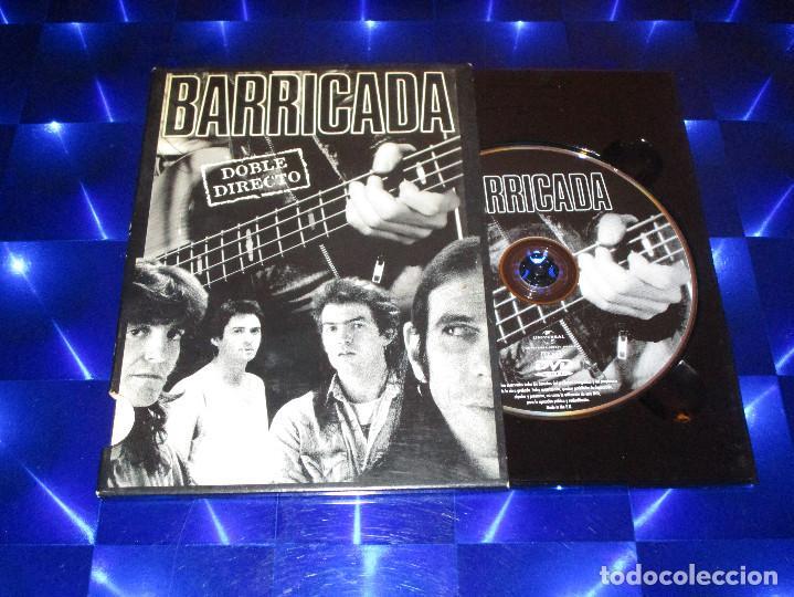 Vídeos y DVD Musicales: BARRICADA ( DOBLE DIRECTO ) - DVD - 0602517431324 - UNIVERSAL - ROJO - CONTRA LA PARED - OKUPACION - Foto 2 - 157263534