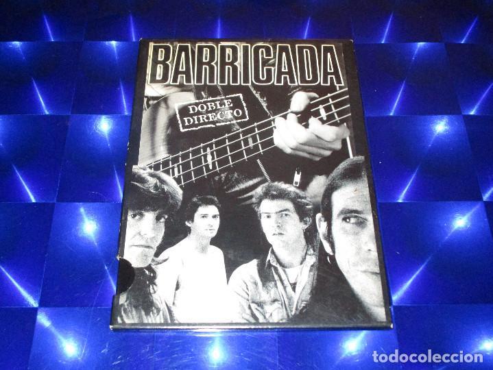 Vídeos y DVD Musicales: BARRICADA ( DOBLE DIRECTO ) - DVD - 0602517431324 - UNIVERSAL - ROJO - CONTRA LA PARED - OKUPACION - Foto 3 - 157263534