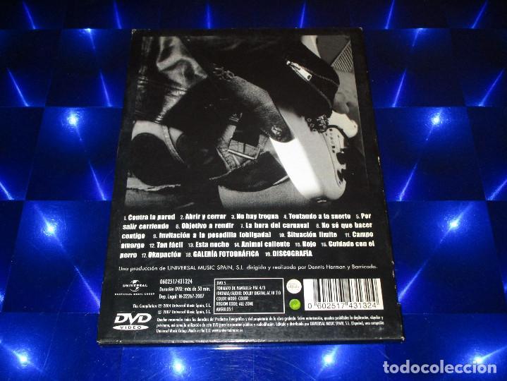 Vídeos y DVD Musicales: BARRICADA ( DOBLE DIRECTO ) - DVD - 0602517431324 - UNIVERSAL - ROJO - CONTRA LA PARED - OKUPACION - Foto 4 - 157263534