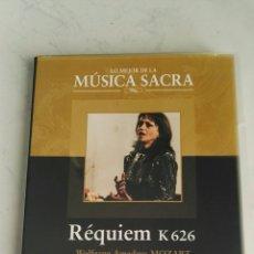 Vídeos y DVD Musicales: RÉQUIEM K 626 MOZART LO MEJOR DE LA MÚSICA SACRA DVD. Lote 157839757