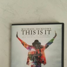 Vídeos y DVD Musicales: THIS IS IT DVD MICHAEL JACKSON. Lote 157843902