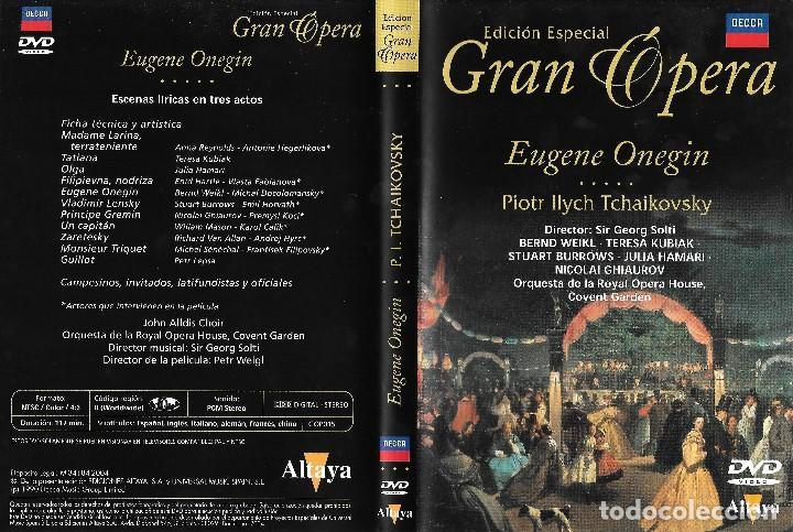 EUGENE ONEGIN - PIOTR ILYCH TCHAIKOVSKY - EDICIÓN ESPECIAL GRAN ÓPERA (Música - Videos y DVD Musicales)
