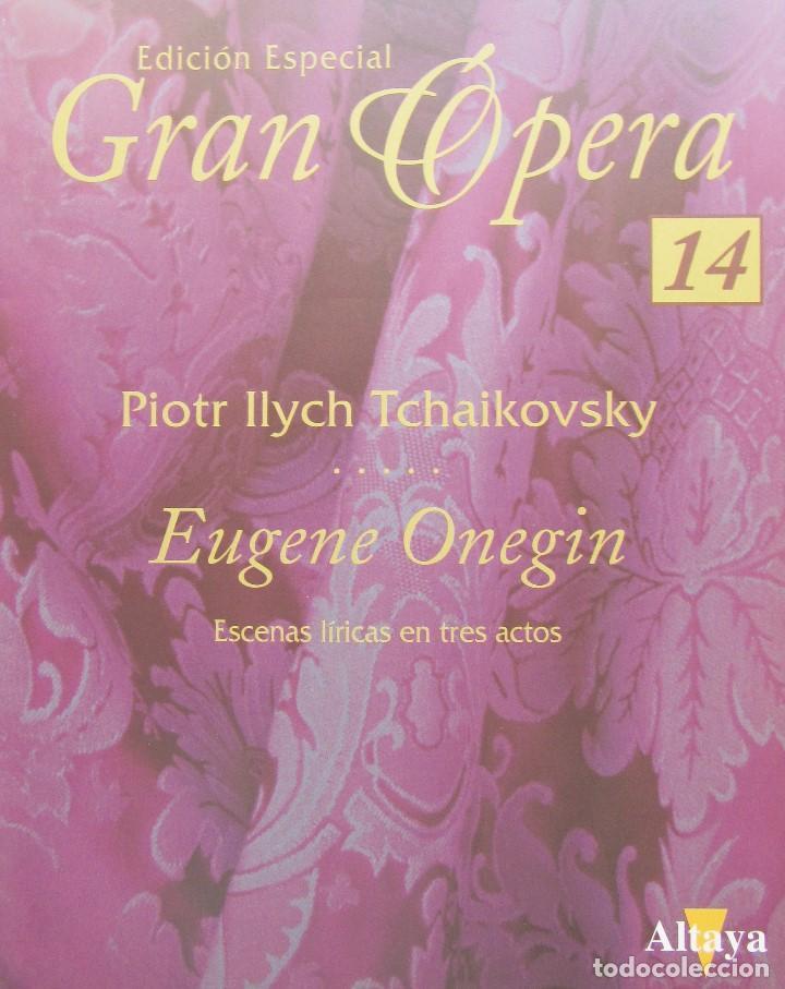 Vídeos y DVD Musicales: EUGENE ONEGIN - PIOTR ILYCH TCHAIKOVSKY - EDICIÓN ESPECIAL GRAN ÓPERA - Foto 2 - 157942818